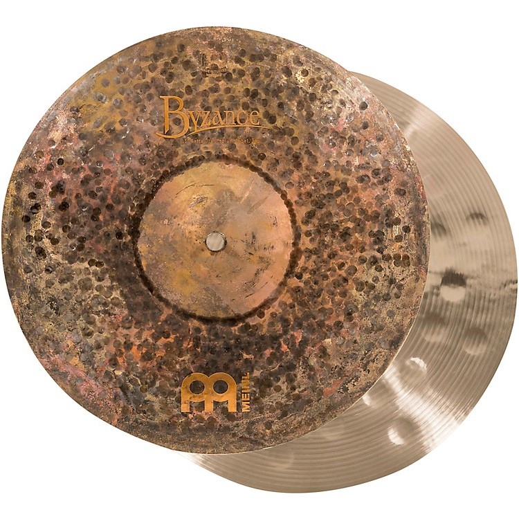 Meinl Byzance Extra-Dry Medium Hi-Hat Cymbals 13 in.