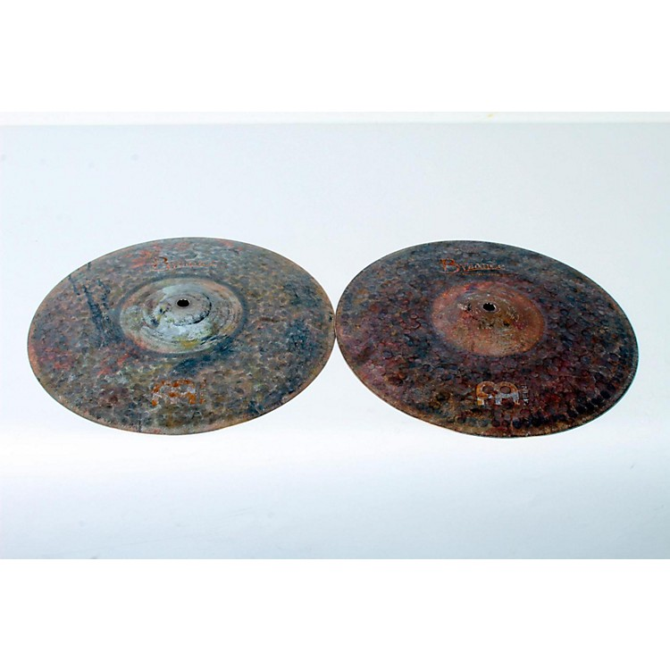 Meinl Byzance Extra-Dry Medium Hi-Hat Cymbals 13 in. 888365801827