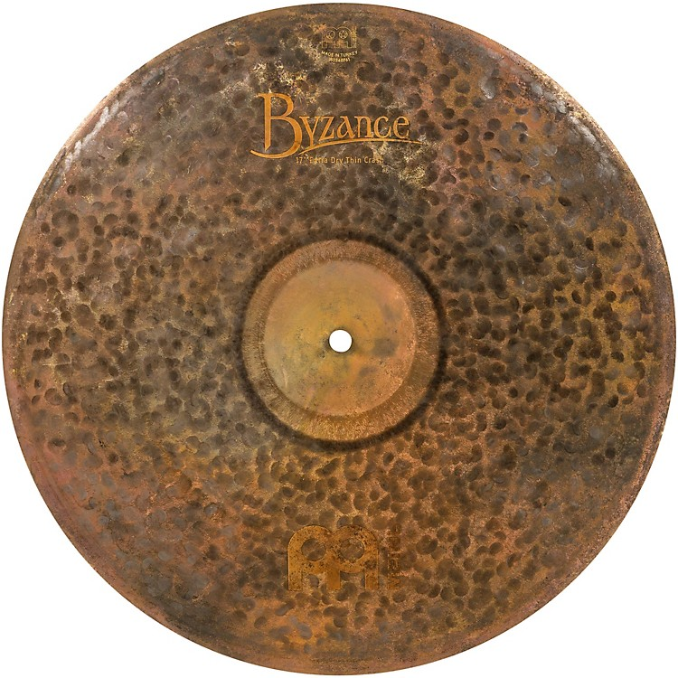 MeinlByzance Extra Dry Thin Crash Cymbal17 in.