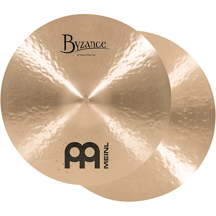 Meinl Byzance Heavy Hi-Hat Traditional Cymbals 14 in.