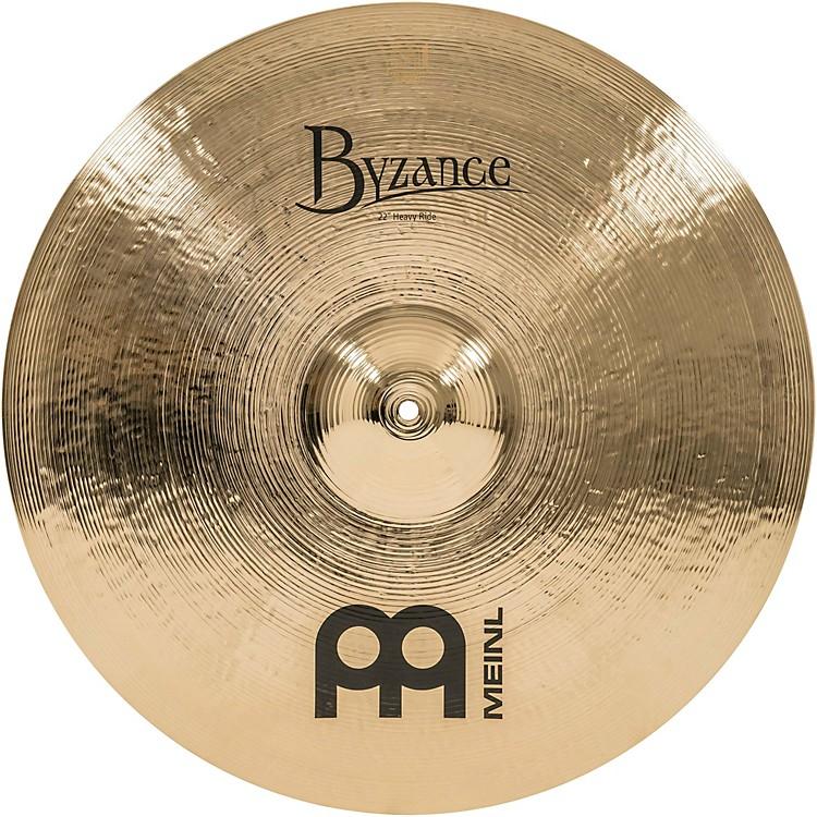 MeinlByzance Heavy Ride Brilliant Cymbal22 in.