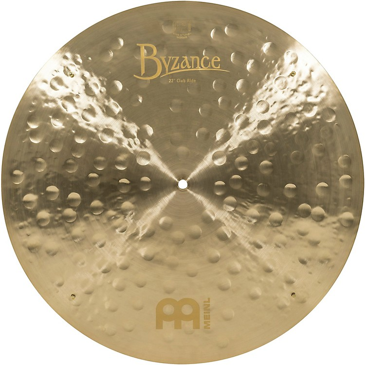 Meinl Byzance Jazz Club Ride Traditional Cymbal 22 in.