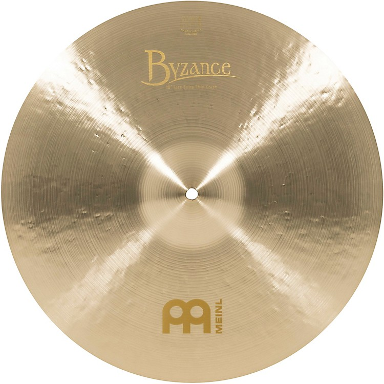 Meinl Byzance Jazz Extra Thin Crash Traditional Cymbal 18 in.