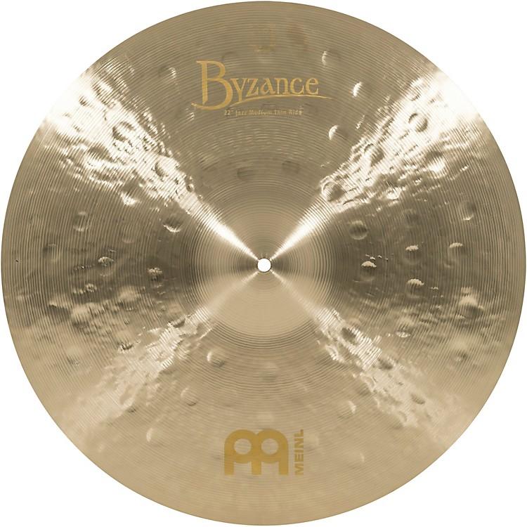 MeinlByzance Jazz Medium Thin Ride Traditional Cymbal22 in.