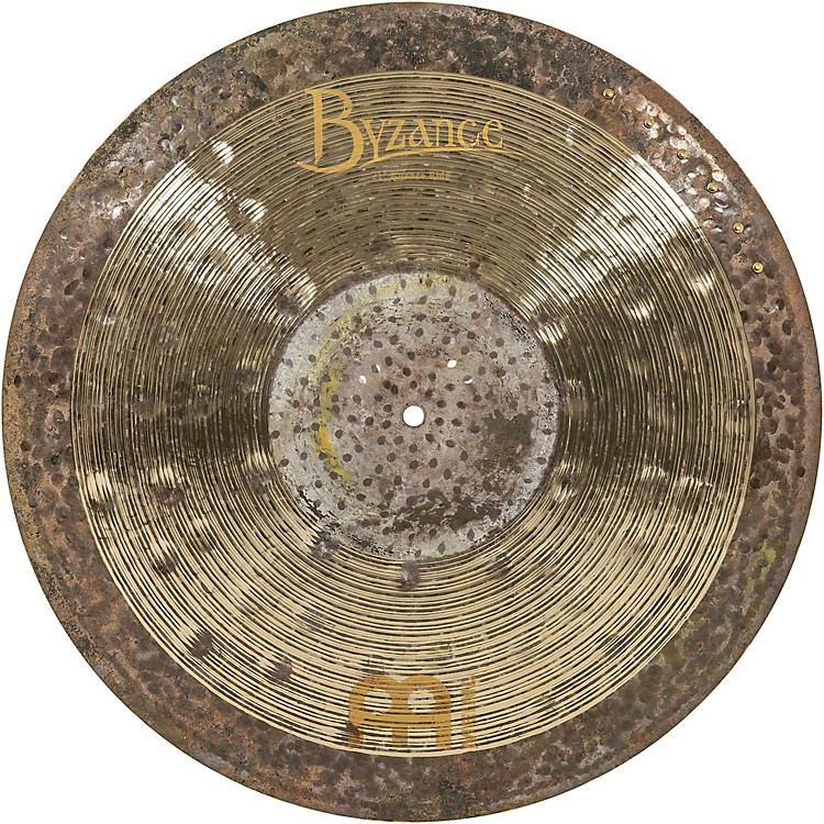 MeinlByzance Jazz Ralph Peterson Signature Nuance Ride Cymbal with Rivets21 in.