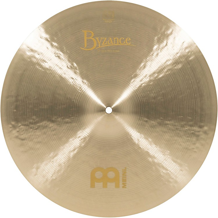 Meinl Byzance Jazz Thin Crash Traditional Cymbal 17 in.