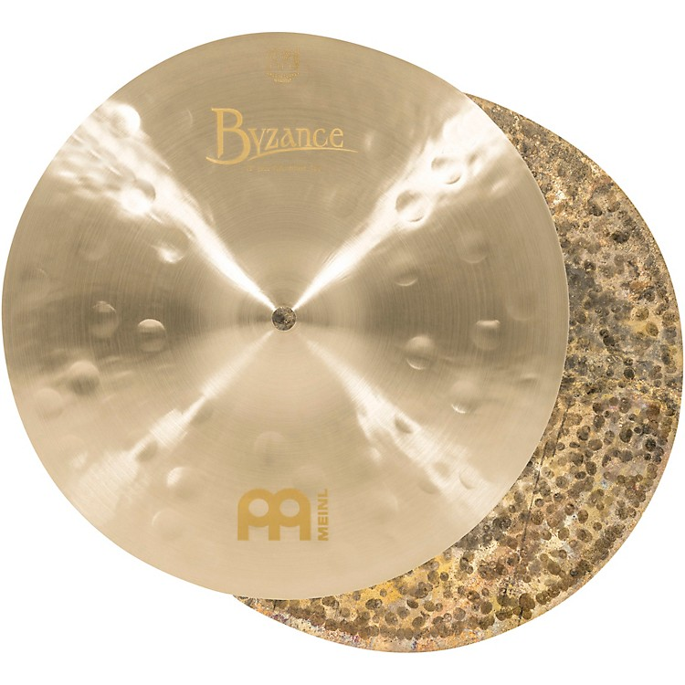 Meinl Byzance Jazz Thin Hi-Hat Traditional Cymbals 13 in.