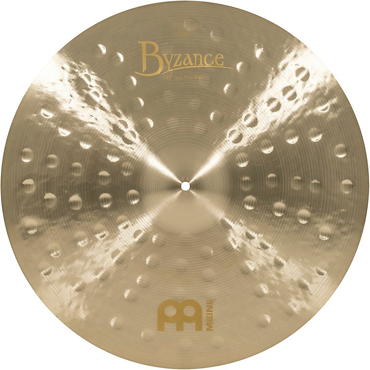 Meinl Byzance Jazz Thin Ride Traditional Cymbal 22 in.