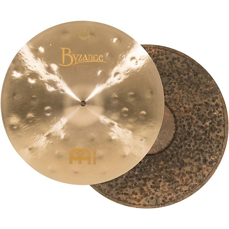 MeinlByzance Jazz Thin Traditional Hi-Hat CymbalsPair