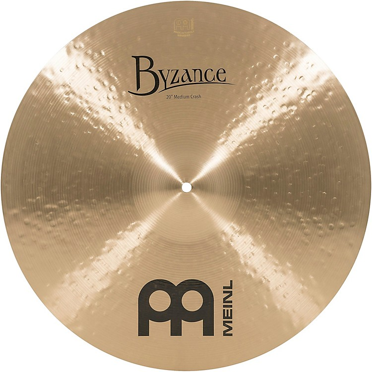 Meinl Byzance Medium Crash Traditional Cymbal 22 in.