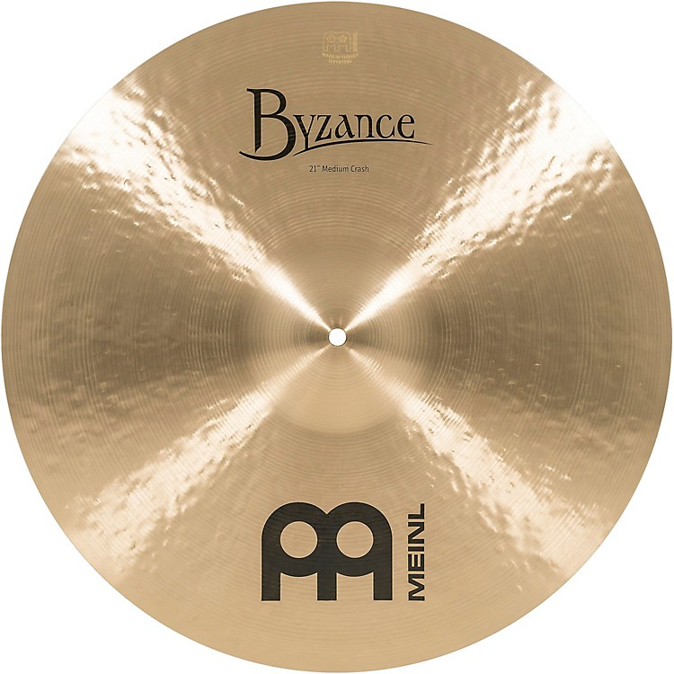 Meinl Byzance Medium Crash Traditional Cymbal 21 in.