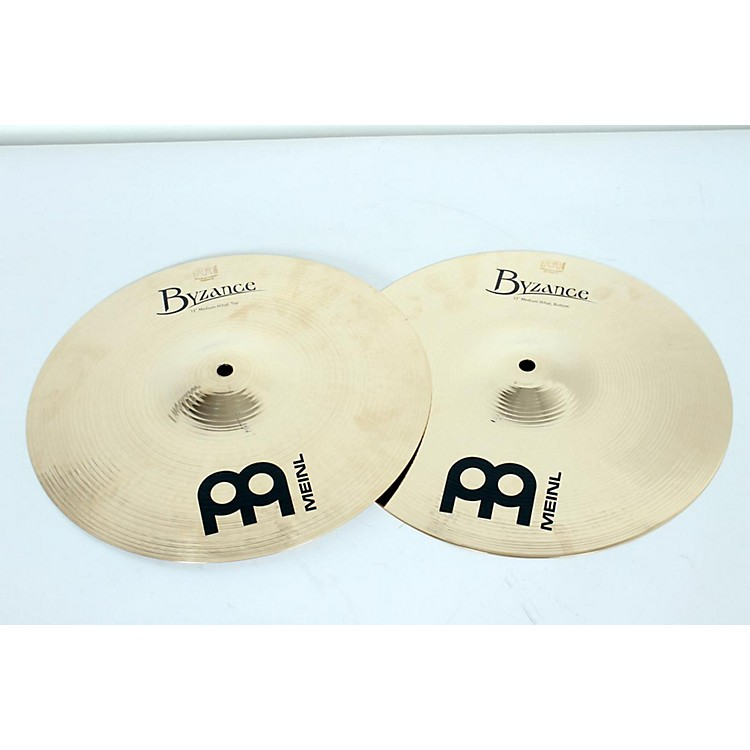 MeinlByzance Medium Hi-Hat Brilliant Cymbals13 in.886830950858