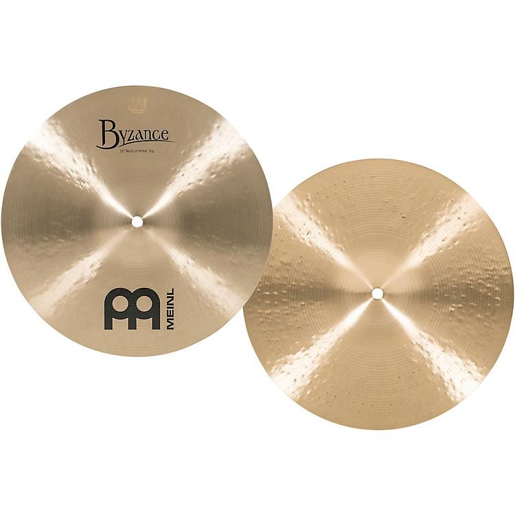 MeinlByzance Medium Hi-Hat Cymbals13 in.
