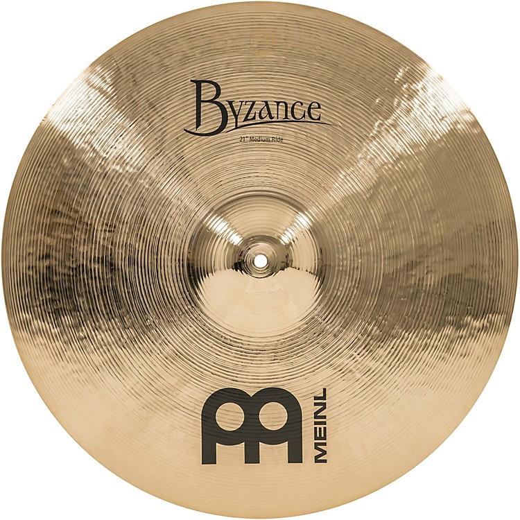 MeinlByzance Medium Ride Brilliant Cymbal21 in.