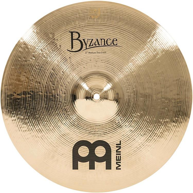 MeinlByzance Medium Thin Crash Brilliant Cymbal17 in.