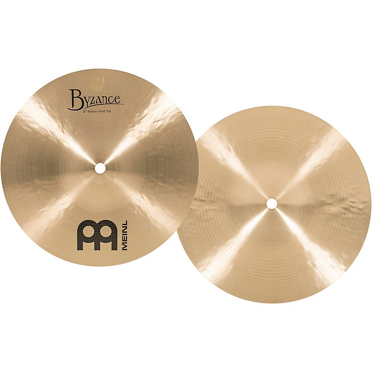Meinl Byzance Mini Hi-Hat Traditional Cymbals 10 in.