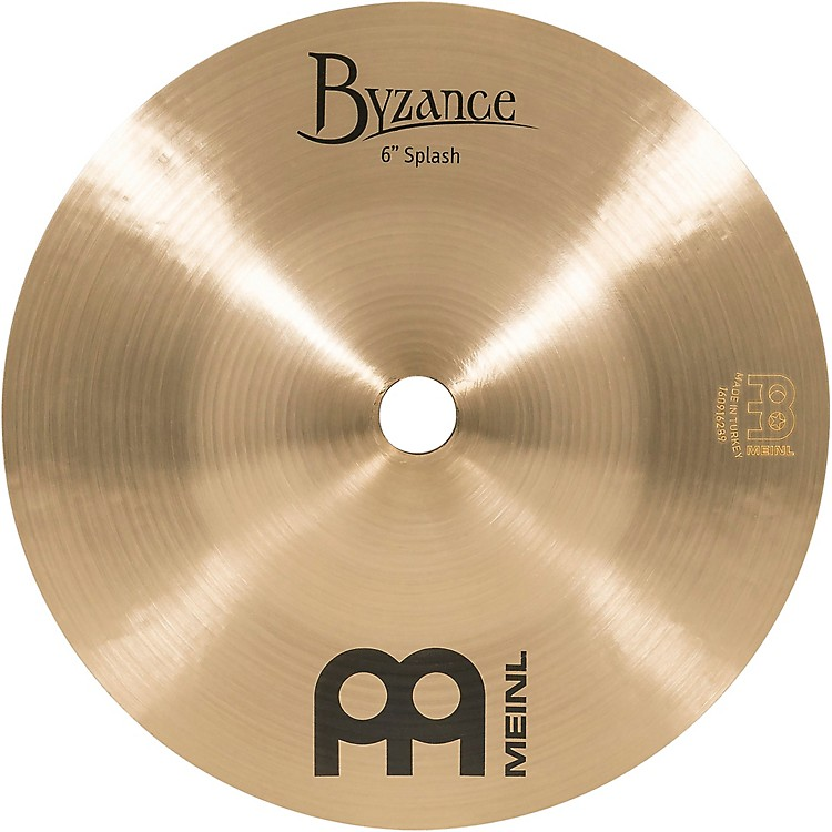 Meinl Byzance Splash Traditional Cymbal 6 in.