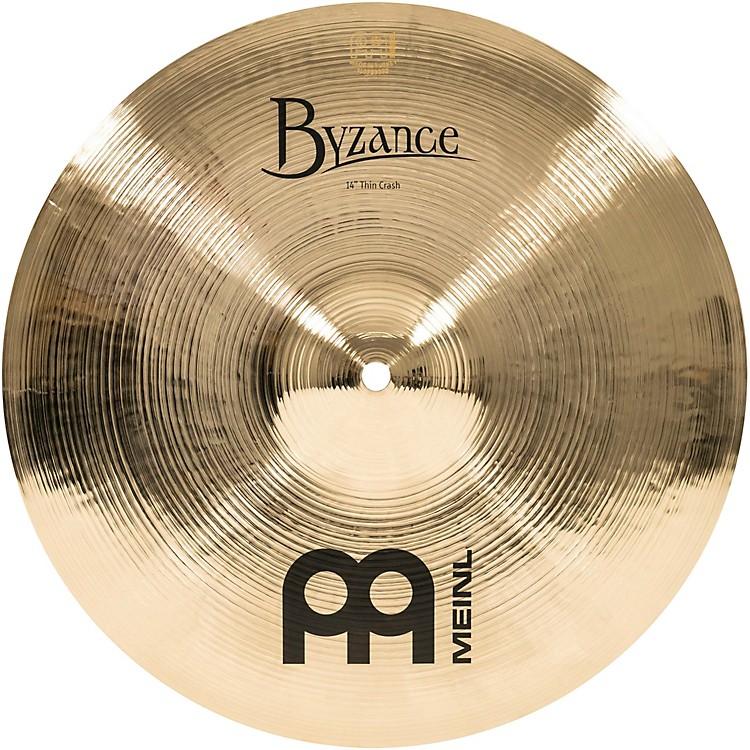 MeinlByzance Thin Crash Brilliant Cymbal14 in.