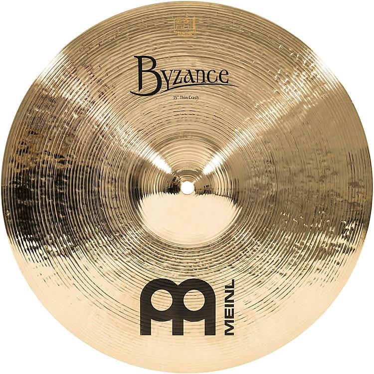 MeinlByzance Thin Crash Brilliant Cymbal15 in.