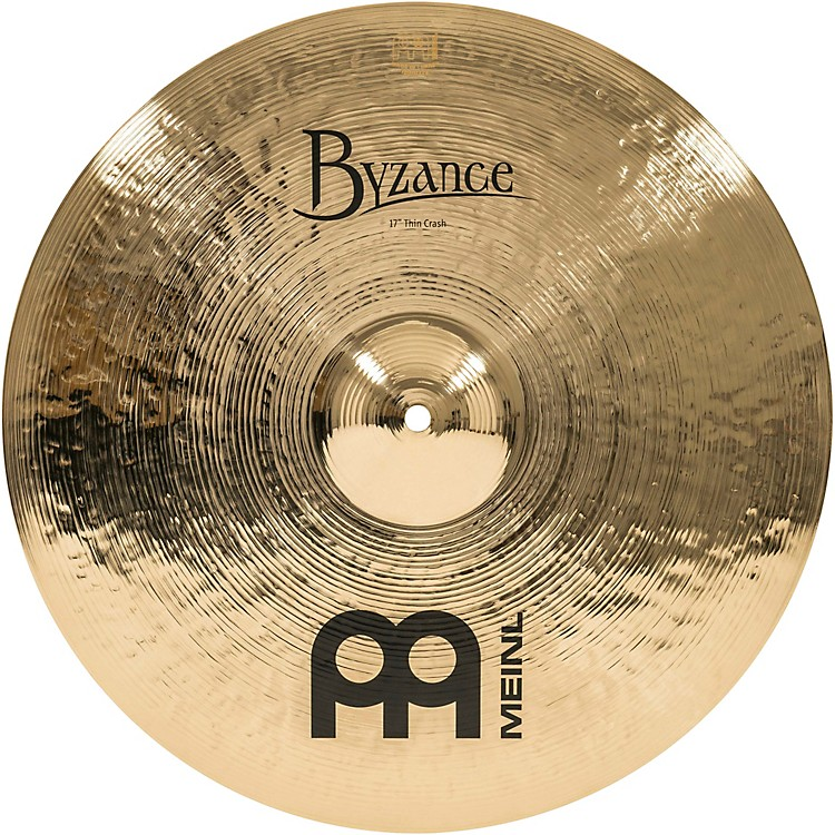 MeinlByzance Thin Crash Brilliant Cymbal17 in.