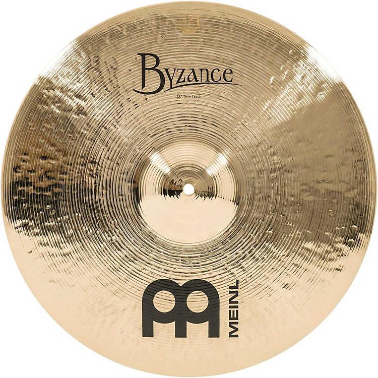 MeinlByzance Thin Crash Brilliant Cymbal16 in.