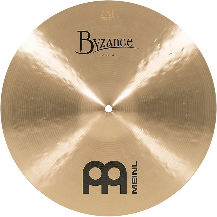 MeinlByzance Thin Crash Traditional Cymbal15 in.