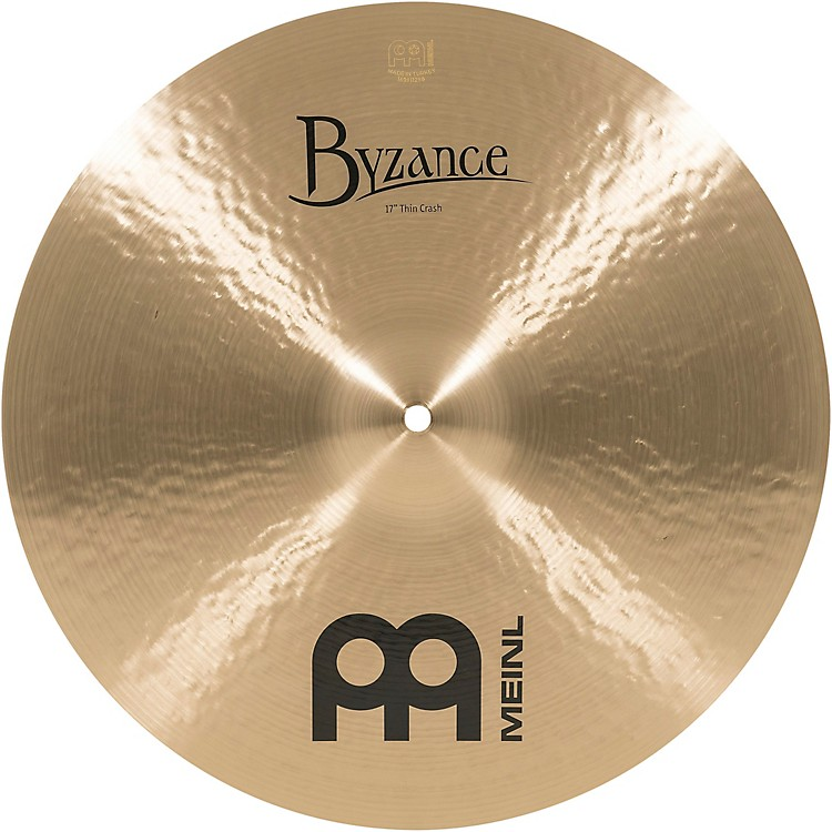 Meinl Byzance Thin Crash Traditional Cymbal 17 in.