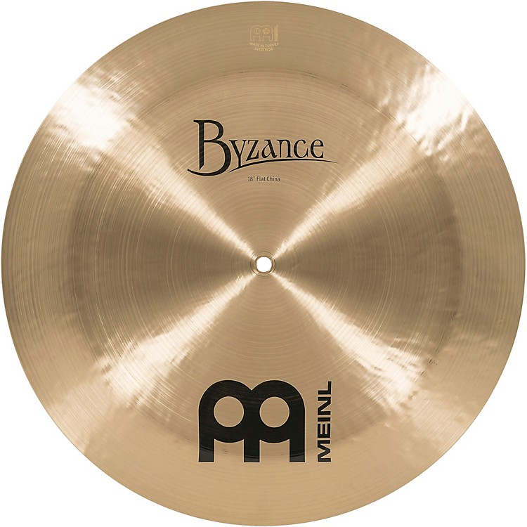 MeinlByzance Traditional Flat China Cymbal18 in.