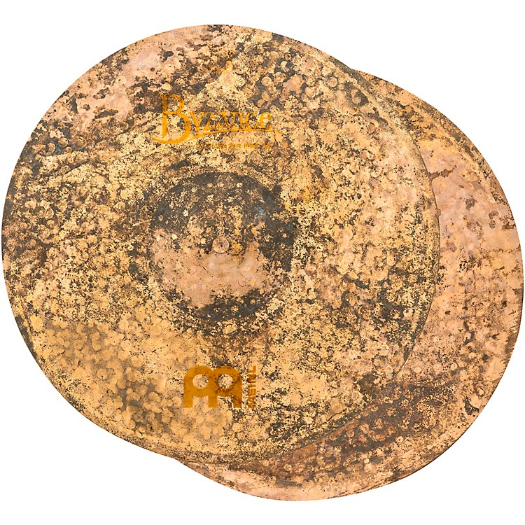 MeinlByzance Vintage Pure Hi-Hat Cymbal Pair15 in.