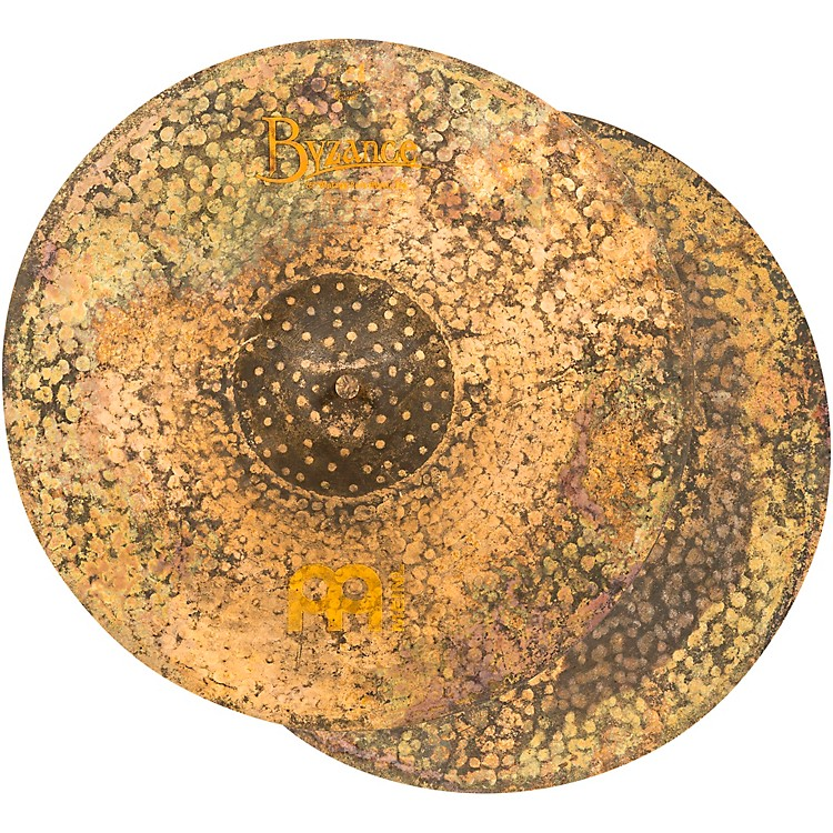 Meinl Byzance Vintage Pure Hi-Hat Cymbal Pair 16 in.