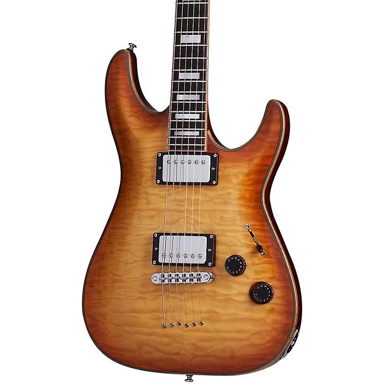 Schecter Guitar ResearchC-1 Custom Electric GuitarTransparent Midnight Blue190839033017