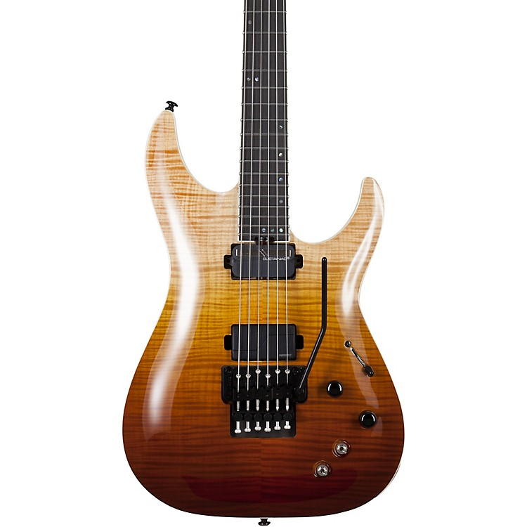 Schecter Guitar Research C-1 FR-S SLS Elite Electric Guitar Antique Fade Burst
