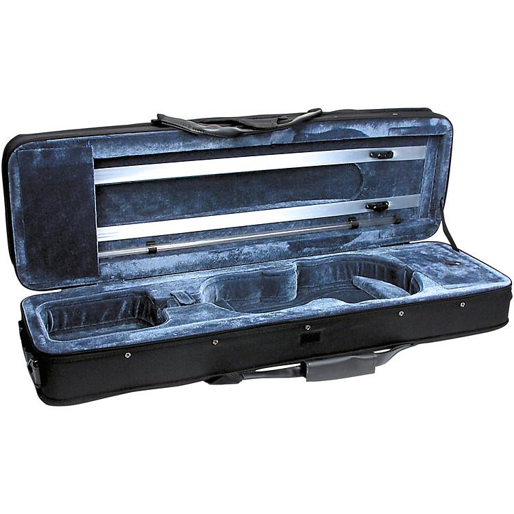 FeatherweightC-3960 Deluxe Violin Case - Rectangular4/4 SizeBlack Exterior, Blue Interior