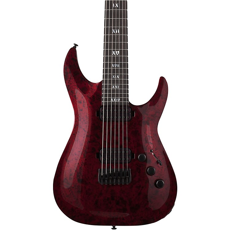 Schecter Guitar ResearchC-7 Apocalypse 7-String Electric GuitarRed Reign