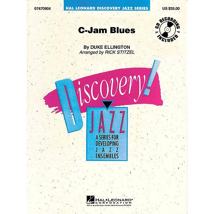 Hal LeonardC-Jam Blues Jazz Band Level 1.5 Arranged by Rick Stitzel
