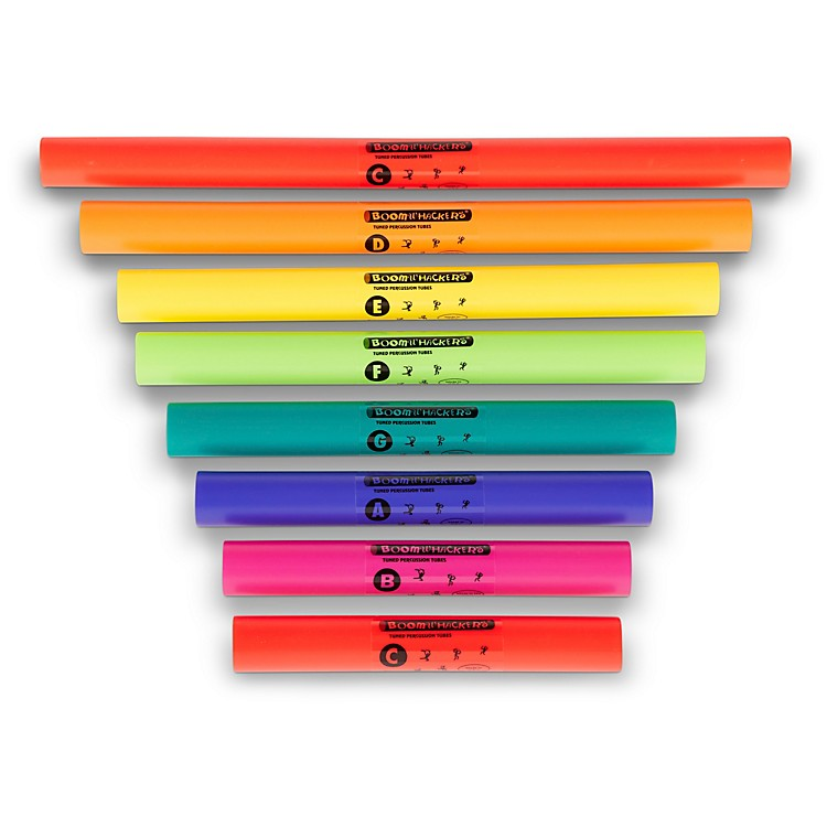 Boomwhackers C Major Diatonic Scale Set (Upper Octave) Boomwhackers Tuned Percussion Tubes
