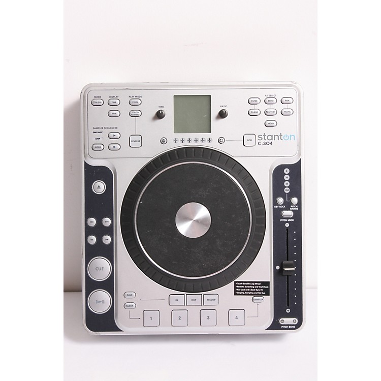Stanton C.304 Tabletop CD Player with Touch Sensitive Wheel  889406347991