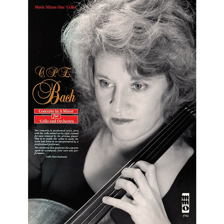 Music Minus OneC.P.E. Bach - Violoncello Concerto in A Minor, Wq170/h432 Music Minus One Softcover with CD by Marcy Chanteaux