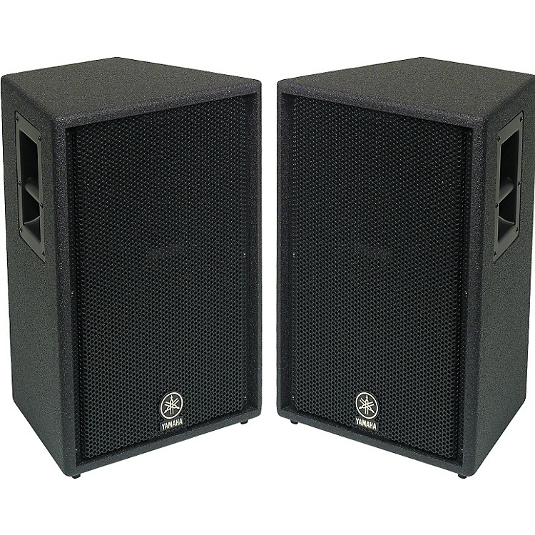 Yamaha c112v 12 2 way club speaker pair music123 for Yamaha pro audio