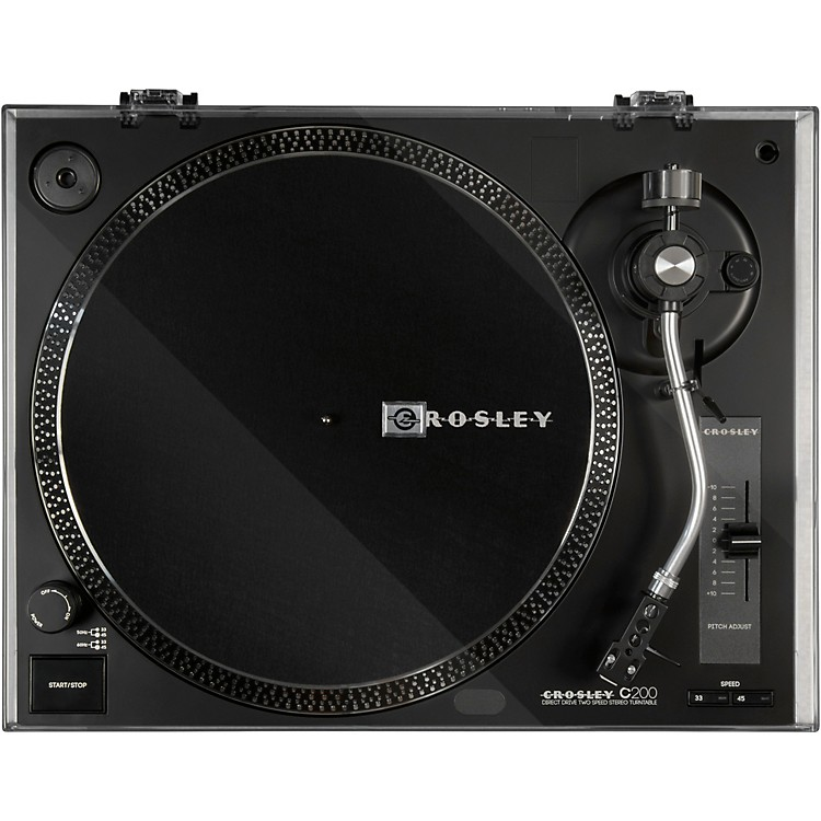 Crosley C200 Turntable Black