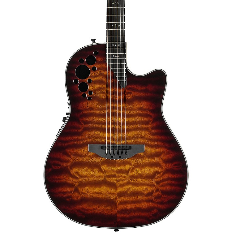 ovation c2078axp stb exotic wood elite plus sapeli acoustic electric guitar tobacco burst music123. Black Bedroom Furniture Sets. Home Design Ideas