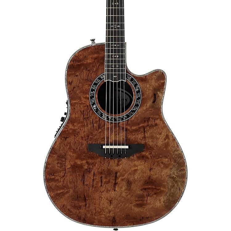 OvationC2079AXP-MB Exotic Wood Legend Plus Multi-Color Bubinga Acoustic-Electric GuitarNatural