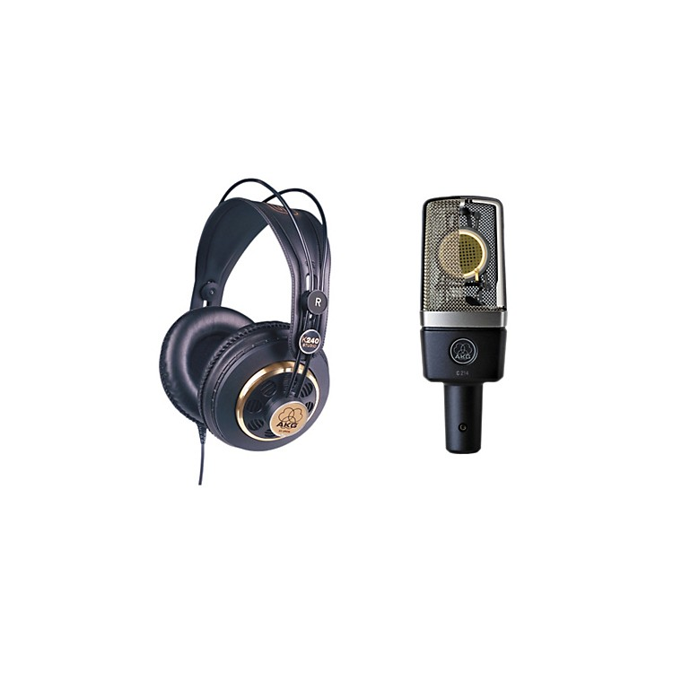 AKGC214 and K240 Mic and Headphone Package