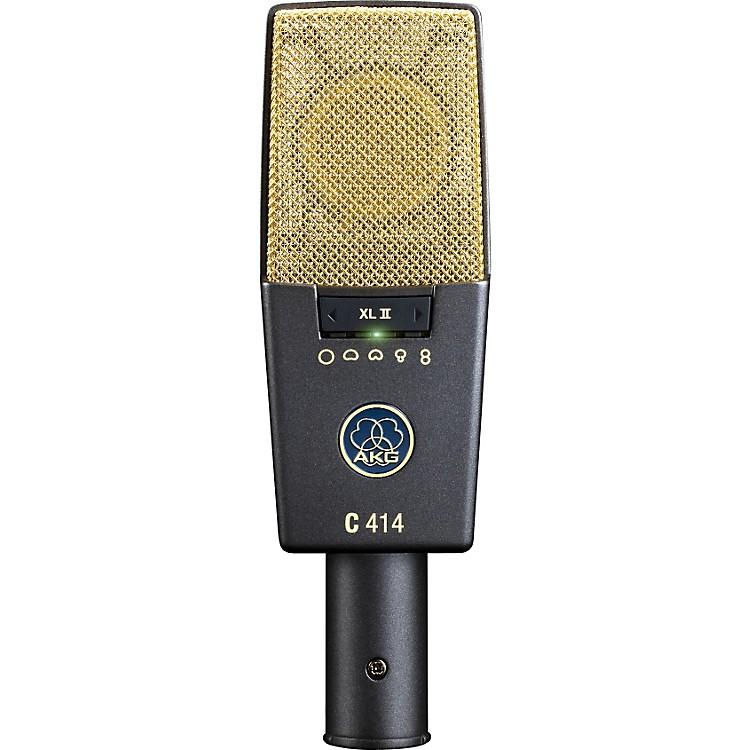 AKGC414 XL II Reference Multi-Pattern Condenser Microphone