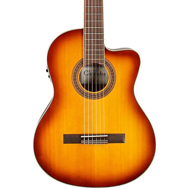 CordobaC5-CE Classical Cutaway Acoustic-Electric GuitarSunburst