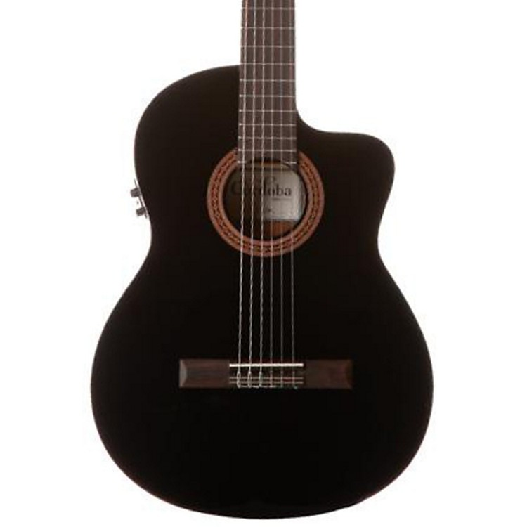 CordobaC5-CEBK Classical Acoustic-Electric Guitar BlackBlack
