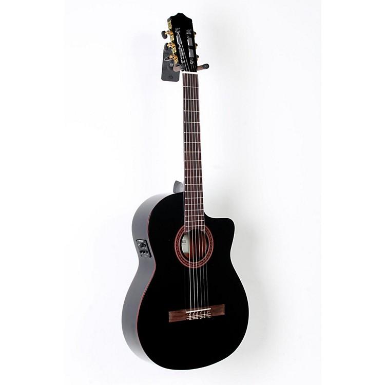CordobaC5-CEBK Classical Acoustic-Electric Guitar BlackBlack888365790596