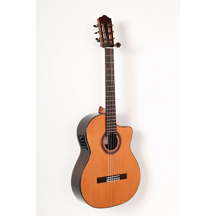 Cordoba C7-CE CD Acoustic-Electric Nylon String Classical Guitar Natural 888365828534