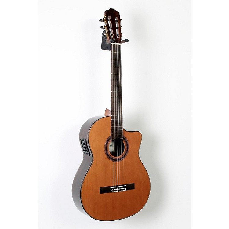 Cordoba C7-CE CD Acoustic-Electric Nylon String Classical Guitar Natural 888365838717