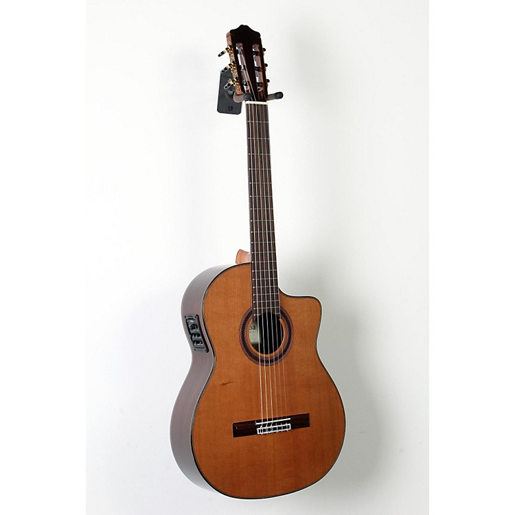 Cordoba C7-CE CD Acoustic-Electric Nylon String Classical Guitar Natural 888365854212